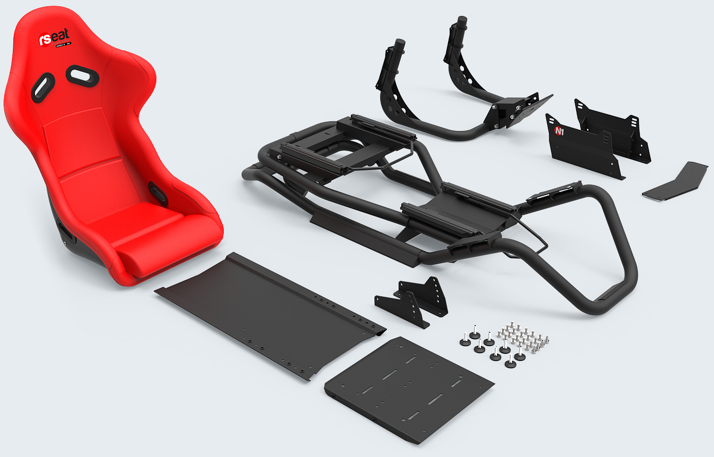 rseat-n1-red-black-packaging